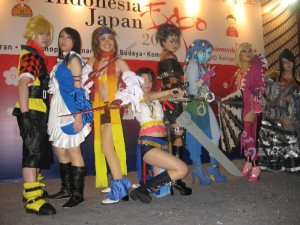 FF X-2 team.. Cool..!! Rikku ga.. waww