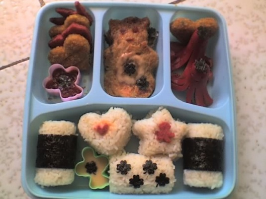 My second bento..