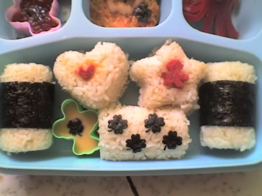 Onigiri.. aren't they cute?? ;D