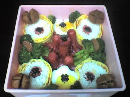 my Third Bento.. feat.Gilang (^o^)