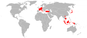 Total visited 14 countries